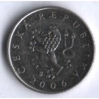 1 крона 2006 год. Чехия