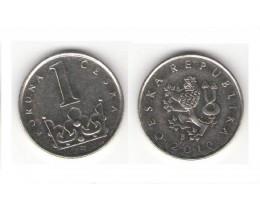 1 крона 2010 год. Чехия