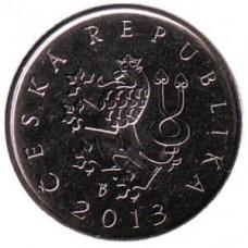 1 крона 2013 год. Чехия