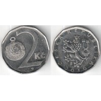 2 кроны 2010 год. Чехия