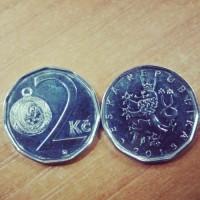 2 кроны 2015 год. Чехия