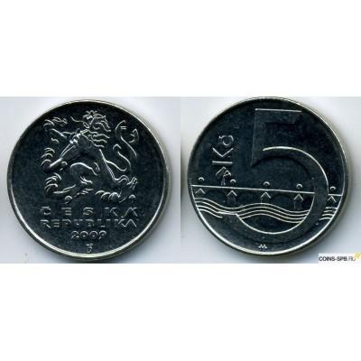 5 крон 2009 год. Чехия