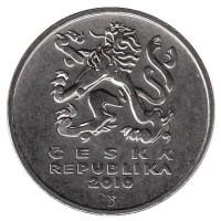 5 крон 2010 год. Чехия