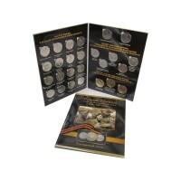 Полный набор монет России 2014 - 2015 год, 70 лет Победы в ВОВ (в альбоме-планшете) 26 монет.