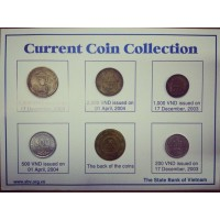 Набор монет Вьетнама 2003-2004 год.