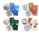 Монеты и наборы монет посвящённых сочинской олимпиаде 2014 года