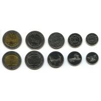 Набор монет Йемен1993-2009 год (5 штук)