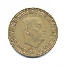 1 песета 1966 г. Испания