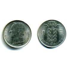 1 франк 1972 г. Бельгия