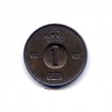 1 эре Швеция 1956 год