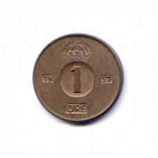 1 эре Швеция 1957 год