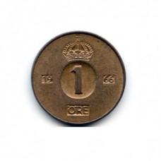 1 эре Швеция 1966 год