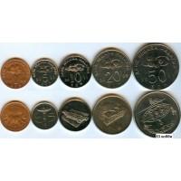 Набор монет Малайзия 2006-2011 гг. (5 монет)