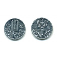 10 грошей 1982 г. Австрия