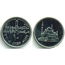 10 пиастров 2008 год. Египет