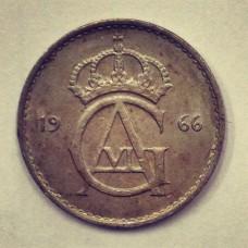10 эре  Швеция 1966 год