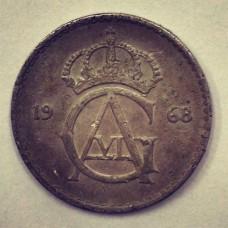 10 эре  Швеция 1968 год