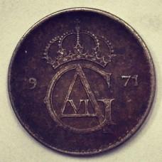 10 эре  Швеция 1971 год