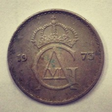 10 эре  Швеция 1973 год