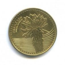 100 песо 2014 год. Колумбия. Цветок эспелетия.