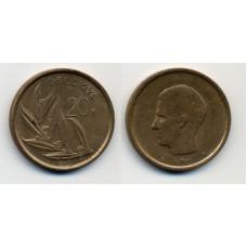20 франков 1982 г. Бельгия