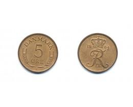 5 Эре 1964 г. Дания