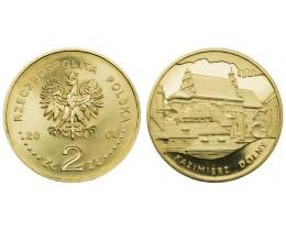 2 злотых 2008 год Польша. Казимеж-Дольны