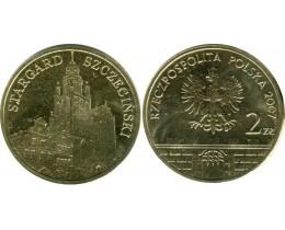 2 злотых 2007 год. Польша. Старгард-Щециньски