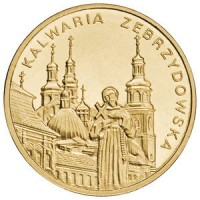 2 злотых 2010 год Польша. Кальвария-Зебжидовска.