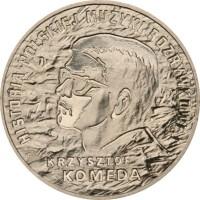 2 злотых 2010 год Польша. Кшиштоф Комеда.
