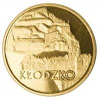 2 злотых 2007 год Польша. Клодзко
