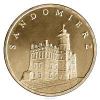 2 злотых 2006 год Польша. Сандомир