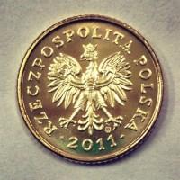 1 грош 2011 г Польша