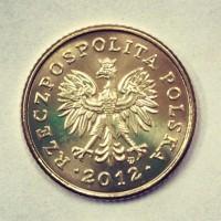 1 грош 2012 г Польша