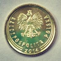 5 грошей 2014 год. Польша