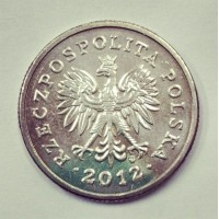 1 злотый 2012 год. Польша