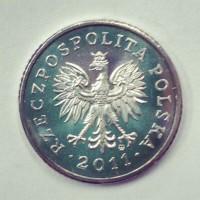 10 грошей 2011 год. Польша