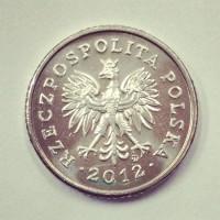 50 грошей 2012 год. Польша