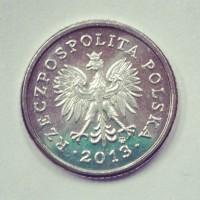 50 грошей 2013 год. Польша