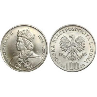 100 злотых 1985 год. Пшемыслав II