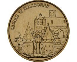 2 злотых 2002 год. Польша. Замок в Мальборке