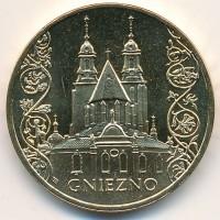 2 злотых 2005 год Польша. Гнезно.