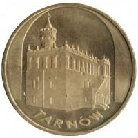 2 злотых 2007 год Польша. Тарнув.