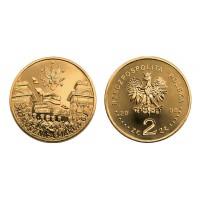 2 злотых 2008 год Польша. 40 лет событиям Марта 1968 года