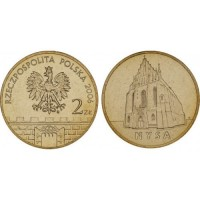 2 злотых 2006 год Польша. Ныса.