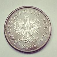 50 грошей 2009 Польша
