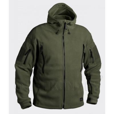Флисовая куртка Helikon Patriot, 390г, олива, новая