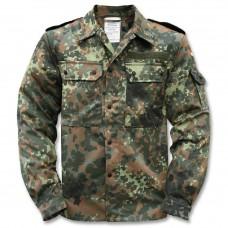 Рубаха полевая Бундесвер флектарн, Б.У. (размеры 1,2,4,12)
