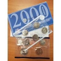 Годовой набор разменных монет США 2000 года (P)
