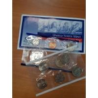 Годовой набор разменных монет США 2002 года (P)